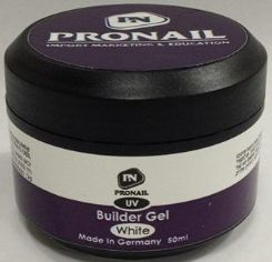 "ג'ל בניה לבן Builder Gel White PRONAIL 56g""r"