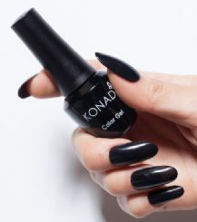 ג'ל לק konad gel polish Pure Black 03