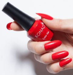 ג'ל לק konad gel polish Scarlet Red 08