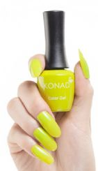 ג'ל לק konad gel polish Lime Punch 18