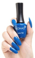konad gel polish Imoerial Blue 22