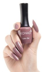 ג'ל לק konad gel polish Rose Brown 25