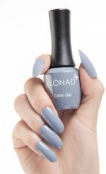 ג'ל לק konad gel polish Citi Gray 28