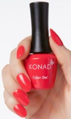 ג'ל לק NEON RED konad gel Polish 67