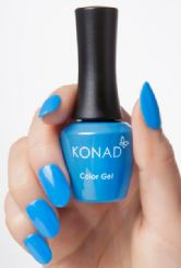ג'ל לק konad gel Polish DIVA BLUE 69