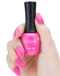 ג'ל לק konad gel SHOCKING PINK 64