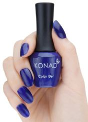 ג'ל לק konad gel NEON DEEP BLUE 63