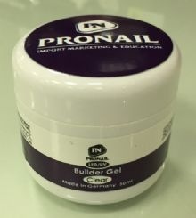 "ג'ל בניה שקוף Builder Gel Clear PRONAIL 56g""r"